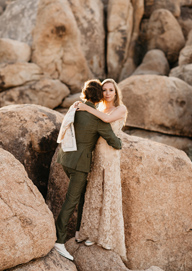 Love in Joshua Tree Park